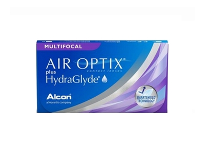 air optix + hydraglyde multifocal