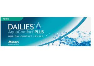 Dailies aqua comfort+ toric