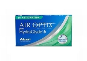 Air optix + HydraGlyde for astigmatism