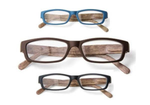 Leesbril houtlook