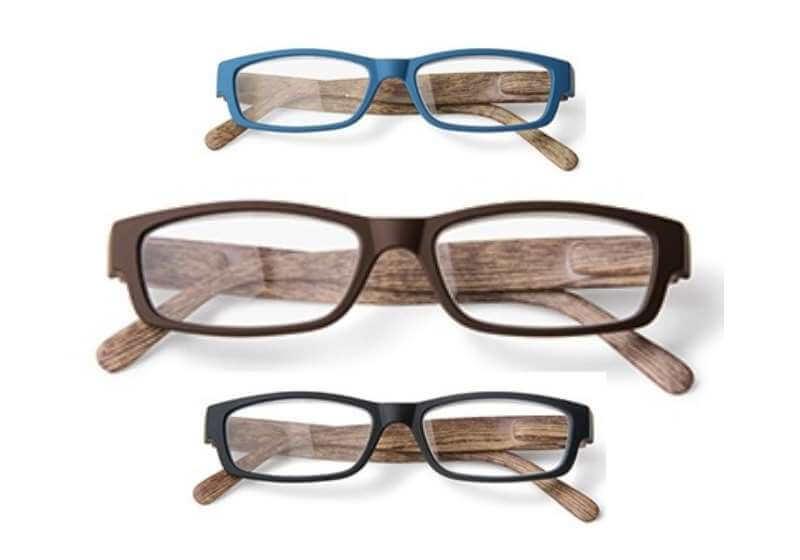 leesbril houtlook assorti