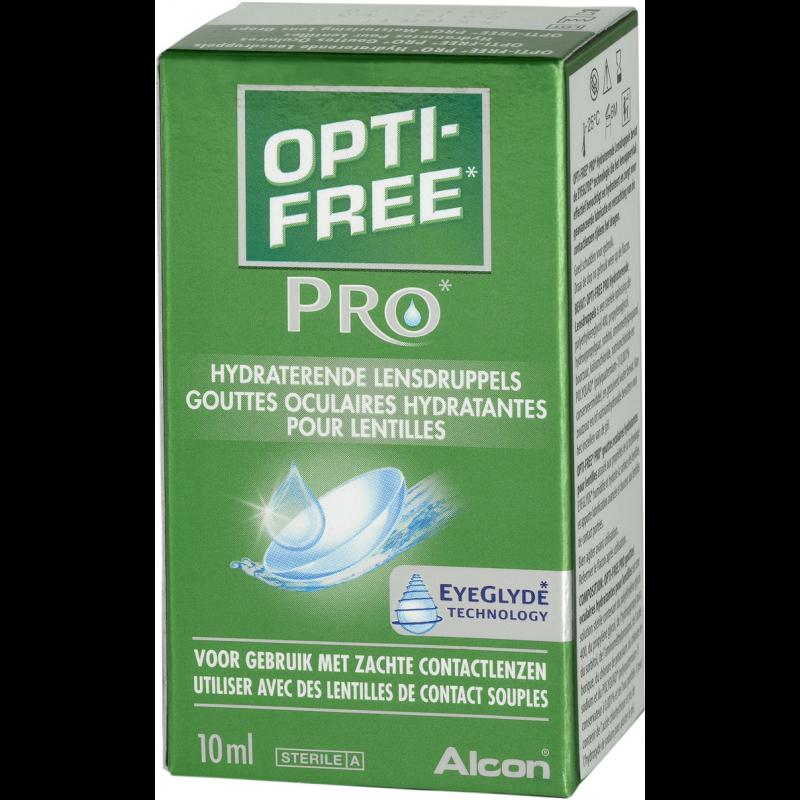 Optifree Pro lensdruppels