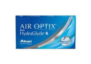 Air optix + hydraglyde