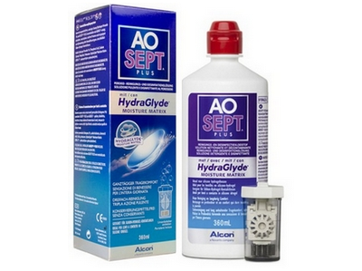AOsept Plus HydraGlyde single