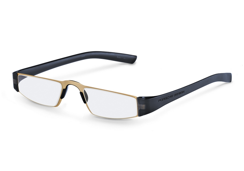Leesbril Porsche design U - Gold/blue